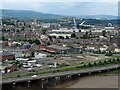 ST3186 : A view over Newport City centre. by Robin Drayton
