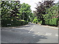 SJ8480 : Albert Road off Alderley Road, Wilmslow by Ian S