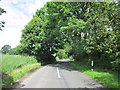 SJ8178 : Paddock Hill Lane off Knutsford Road by Ian S