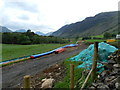 NY1303 : New water pipe-line near Easthwaite Farm by Peter Barr