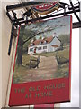 TQ9274 : The Old House at Home, Pub Sign Sheerness by David Anstiss