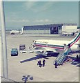 NS4766 : Britannia Airways plane at Glasgow Airport by Elliott Simpson