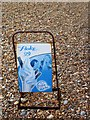 TV4898 : Faded flake sign, Seaford by nick macneill