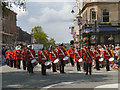 SD8010 : Bury Carnival, Market Place by David Dixon