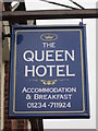 SP8852 : The Queen Hotel, Olney by Ian S