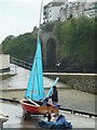 SX2553 : A wet Saturday in East Looe by Chris Allen