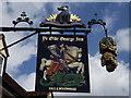 SU6822 : Ye Olde George Inn Sign by Colin Smith