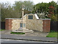 SP8206 : The War Memorial at Little Kimble by David Purchase