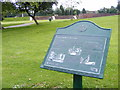 SO9496 : Park Sign by Gordon Griffiths