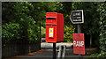 J4280 : Letter box, Craigavad by Albert Bridge