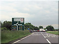 SK4776 : A616 and A619 junction at Barlborough by John Firth