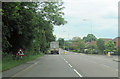 SK7181 : A620 east at junction with Welham Grove, Retford by John Firth