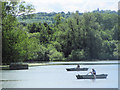 SP9113 : Going Fishing on Tringford Reservoir, near Tring by Chris Reynolds