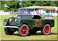 SJ7077 : Vintage Land Rover at the Cheshire Show by Jeff Buck