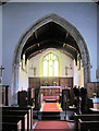 TF4676 : Bilsby church interior by John Firth