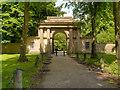 SD8203 : Heaton Park, Grand Lodge Gatehouse by David Dixon