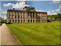 SJ9682 : Lyme Hall and South Lawn by David Dixon