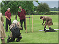 SU8099 : The Princess Royal plants an oak tree at the Hearing Dogs Centre by Chris Reynolds