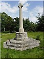 SZ1999 : All Saints, Thorney Hill: war memorial by Basher Eyre