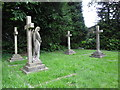 SZ2195 : St Michael & All Angels, Hinton Admiral: churchyard (7) by Basher Eyre