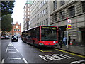 TQ2781 : Bendybus on Great Central Street by Richard Vince