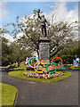 SD8010 : The Fusilier Monument, Whitehead Gardens by David Dixon