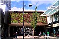 SU1484 : Living wall, Brunel Centre, Swindon by Brian Robert Marshall