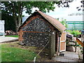 TQ5264 : Potting Shed, World Garden, Lullingstone Castle by PAUL FARMER