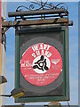 TQ3104 : Sign for The Heart and Hand, North Road / Upper Gardner Street, BN1 by Mike Quinn