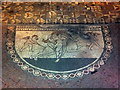 TQ5365 : Mosaic at Lullingstone Roman Villa. Lullingstone Lane, Eynsford by PAUL FARMER