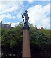 TQ2777 : The Boy David Statue, Chelsea Embankment Gardens by PAUL FARMER
