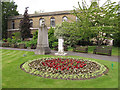 TQ2782 : St John's Wood church: churchyard by Stephen Craven