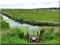 TG0244 : Blakeney Outfall Sluice 2 by Oliver Dixon
