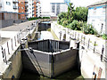 TQ3883 : City Mill Lock by Stephen Craven