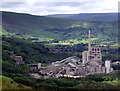 SK1682 : Hope Cement Works by Stephen Burton