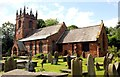SJ3971 : St Oswald's Church, Backford by Jeff Buck