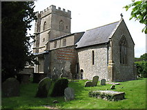 SU1872 : St Andrew's church, Ogbourne St Andrew by David Purchase