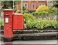C8533 : Pillar box and drop box, Coleraine by Albert Bridge