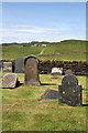 NM7409 : Kilchatton Churchyard, Luing by Walter Baxter