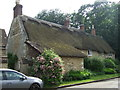 SK9007 : Thatched cottage, Upper Hambleton by JThomas