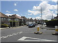 TQ4066 : Junction of West Common Road and Baston Road by Basher Eyre