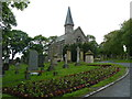 NT9951 : Chapel, Tweedmouth Cemetery by Alexander P Kapp