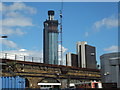 TQ3077 : St George Wharf Tower Nine Elms by PAUL FARMER