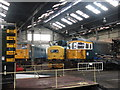 SK4175 : Trains in the Roundhouse by Dave Pickersgill