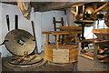 SJ5758 : Bunbury Mill - stone floor by Chris Allen
