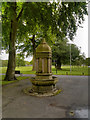 SD6911 : Drinking Fountain, Moss Bank Park by David Dixon
