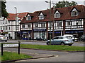 TQ2064 : Mock Tudor Shopping Parade, Ewell by Colin Smith