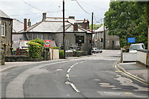 SX0158 : The Bugle Inn on Roche Road by roger geach