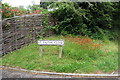 SP8431 : Verge by St Faith's Close by Philip Jeffrey