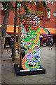 TQ2980 : BT Artbox, Newport Place by Julian Osley